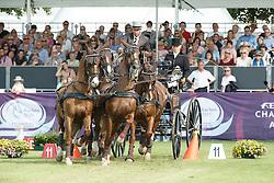 De Ronde Koos, (NED), Alino, Palero, Santana, Ulano<br /> Cones Competition<br /> FEI European Championships - Aachen 2015<br /> © Hippo Foto - Dirk Caremans<br /> 21/08/15