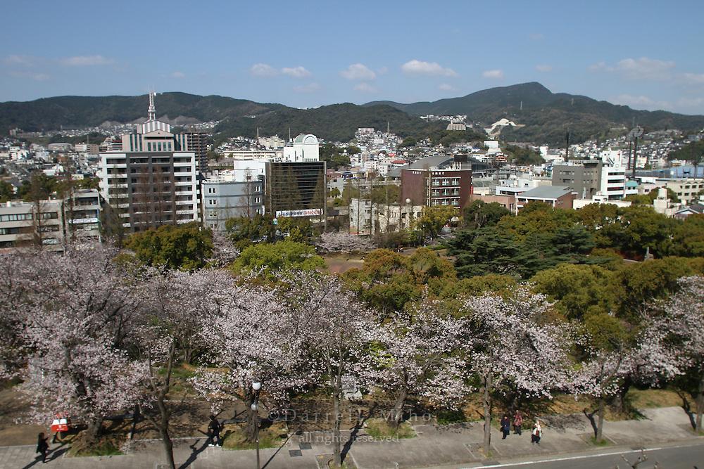 Mar 29, 2010; Nagasaki, JPN - View of Nagasaki.
