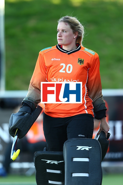 New Zealand, Auckland - 21/11/17  <br /> Sentinel Homes Women&rsquo;s Hockey World League Final<br /> Harbour Hockey Stadium<br /> Copyrigth: Worldsportpics, Rodrigo Jaramillo<br /> Match ID: 10301 - GER vs ARG<br /> Photo: (20) CIUPKA Julia (GK)