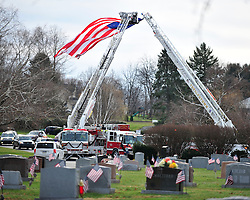 "Funeral services with for Upper Macungie Township Fire Marshal Samir ""Sam"" Ashmar, 51 were held on November 25th, 2014, in Allentown, Pa. Ashmar died on November 20th in the line of duty following an emergency call. (Chris Post 