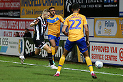 Mansfield Town defender Malvind Benning (3)  during the EFL Sky Bet League 2 match between Mansfield Town and Grimsby Town FC at the One Call Stadium, Mansfield, England on 4 January 2020.