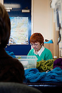 Great Tapestry of Scotland project. The Hub of the project in Dalkeith, where all the planning and preparation is taking place..pic Alex Hewitt.alex.hewitt@gmail.com.07789 871540