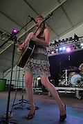 Martha Wainwright performs during the fourth day of the 2007 Bonnaroo Music &amp; Arts Festival on June 17, 2006 in Manchester, Tennessee.<br /> Photo by Bryan Rinnert/3 Sight Photography