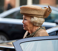 Princess Beatrix during the 65th anniversary of the Cancer Society.