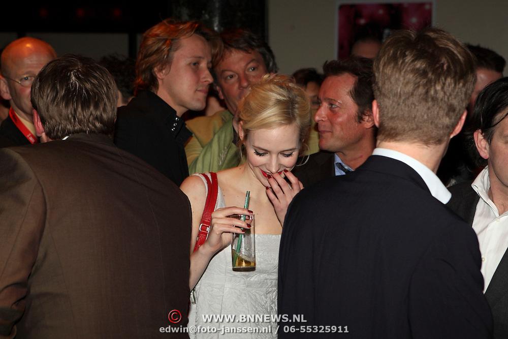 NLD/Amsterdam/20080310 - uitreiking Film1 Rembrand Awards 2008, Daan Schuurmans en Bracha van Doesburg