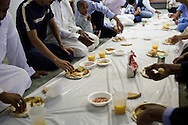 Members of the Islamic Society of Southeast Kansas celebrate Eid ul-Fitr with a morning feast at Pittsburg Masjid in Pittsburg, Kansas, Sep. 10, 2010. The mosque, founded in 1999, is the only one in Southeast Kansas. It serviced Northeast Oklahoma and Southwest Missouri until a newer mosque was established in Joplin, MO a few years ago.