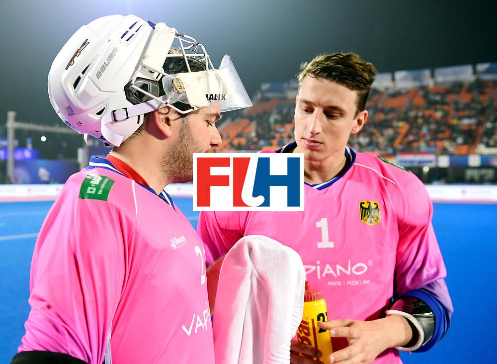 Odisha Men's Hockey World League Final Bhubaneswar 2017<br /> Match id:16<br /> Germany v Netherlands<br /> Foto: keeper Tobias Walter (Ger) and keeper Mark Appel (Ger) <br /> COPYRIGHT WORLDSPORTPICS FRANK UIJLENBROEK