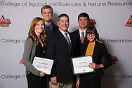 SST Software Scholarship recipient, Clancy Mitchell, Mary Jurzweil, Sarah Kezar, David Goerig.