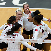 21 September 2018: The San Diego State women's volleyball team opened up conference play against the Fresno State Bulldogs and dropped the match in 3 sets, 27-25, 25-17, 25-21 at Peterson Gym Friday night.