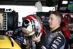 October 5, 2018 - Dover, Delaware, United States of America - John Hunter Nemechek (42) hangs out in the garage during final practice for the Bar Harbor 200 at Dover International Speedway in Dover, Delaware. (Credit Image: © Justin R. Noe Asp Inc/ASP via ZUMA Wire)