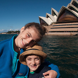 Eliza and Max, Opera House, Sydney, New South Wales, Australia