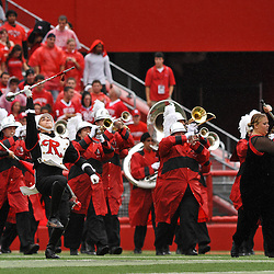 Sep 12, 2009; Piscataway, NJ, USA;  The Rutgers Marching Band plays before Rutgers' 45-7 victory over Howard in NCAA College Football at Rutgers Stadium.