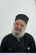Greek Orthodox priest until age 72, Constantinos Plakas, now 96, lives in Karkinagri, Ikaria.