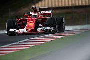 February 26, 2017: Circuit de Catalunya. Kimi Raikkonen (FIN), Scuderia Ferrari, SF70H