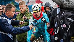 Jakob Fuglsang (DEN), Astana Pro Team, Tour de France, Stage 5: Ypres > Arenberg Porte du Hainaut, UCI WorldTour, 2.UWT, Wallers, France, 9th July 2014, Photo by Pim Nijland