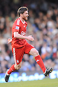 Xabi Alonso (Liverpool). Fulham v Liverpool, Barclays Premier League,  Craven Cottage,  London. 4th April 2009.
