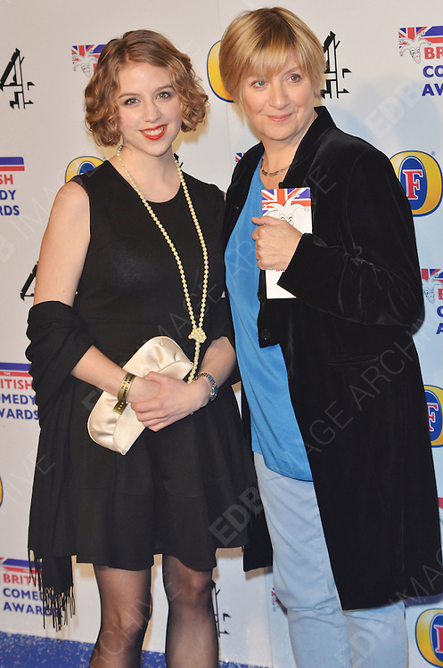 16.DECEMBER.2011. LONDON<br /> <br /> COMEDIENNE AND ACTRESS VICTORIA WOOD ARRIVING AT THE 'BRITISH COMEDY AWARDS 2011' HELD AT THE FOUNTAIN STUDIOS IN WEMBLEY, LONDON.<br /> <br /> BYLINE: EDBIMAGEARCHIVE.COM<br /> <br /> *THIS IMAGE IS STRICTLY FOR UK NEWSPAPERS AND MAGAZINES ONLY*<br /> *FOR WORLD WIDE SALES AND WEB USE PLEASE CONTACT EDBIMAGEARCHIVE - 0208 954 5968*