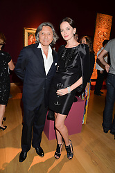 LEON & YANA MAX at the Tatler & Christie's Art Ball held at Christie's, 7-15 Ryder Street, London on 12th June 2014.