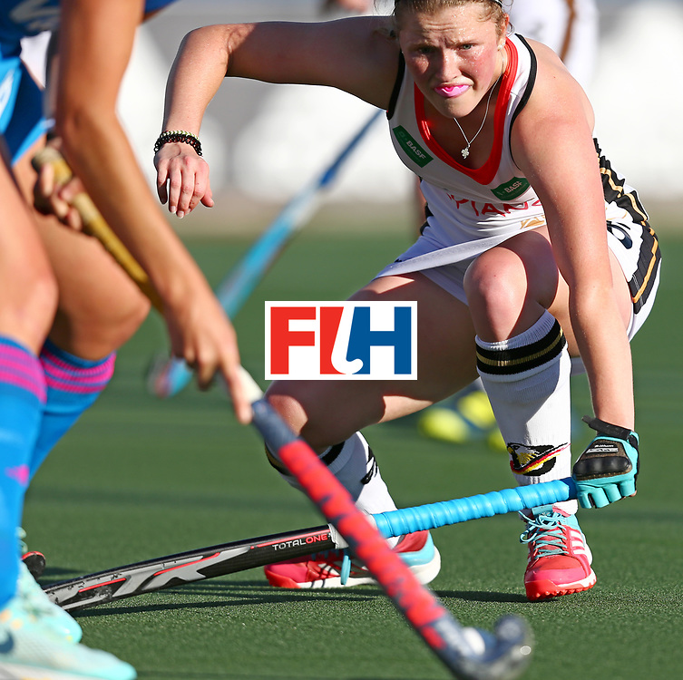 New Zealand, Auckland - 21/11/17  <br /> Sentinel Homes Women&rsquo;s Hockey World League Final<br /> Harbour Hockey Stadium<br /> Copyrigth: Worldsportpics, Rodrigo Jaramillo<br /> Match ID: 10301 - GER vs ARG<br /> Photo: (15) ROTHER Noelle (GK)