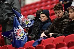 Bristol fans  - Mandatory by-line: Alex Davidson/JMP - 08/12/2017 - RUGBY - Ashton Gate Stadium - Bristol, England - Bristol Rugby v Leinster 'A' - B&I Cup