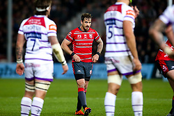 Danny Cipriani of Gloucester Rugby looks on - Mandatory by-line: Robbie Stephenson/JMP - 16/11/2018 - RUGBY - Kingsholm - Gloucester, England - Gloucester Rugby v Leicester Tigers - Gallagher Premiership Rugby