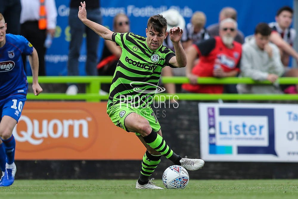 Forest Green Rovers Kevin Dawson(18) during the EFL Sky Bet League 2 match between Forest Green Rovers and Grimsby Town FC at the New Lawn, Forest Green, United Kingdom on 17 August 2019.