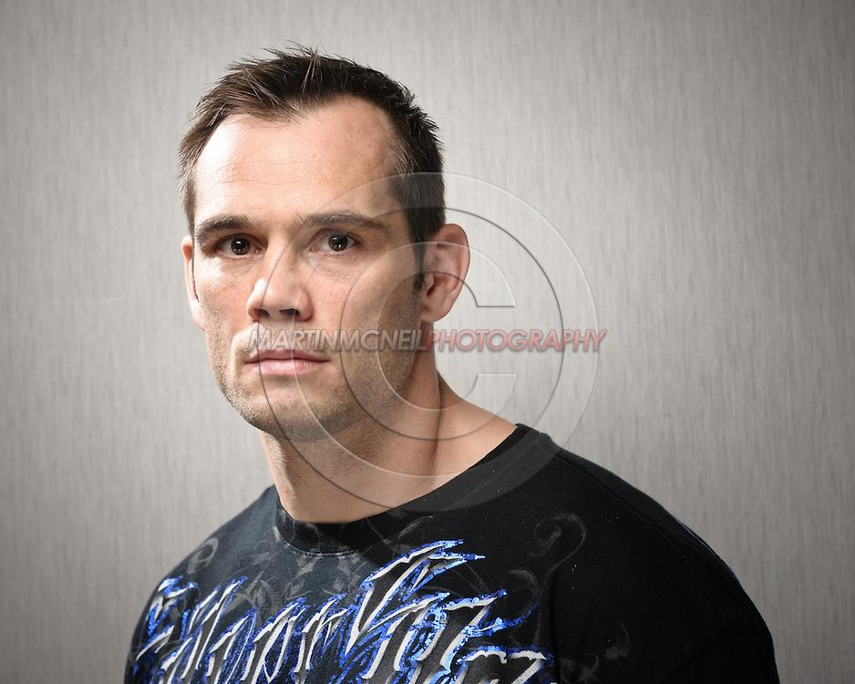"A portrait of mixed martial arts athlete Rich ""Ace"" Franklin"