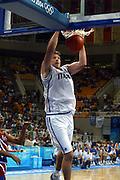 ATENE, 26 AGOSTO 2004<br /> BASKET, OLIMPIADI ATENE 2004<br /> ITALIA - PORTORICO<br /> NELLA FOTO: DENIS MARCONATO<br /> FOTO CIAMILLO