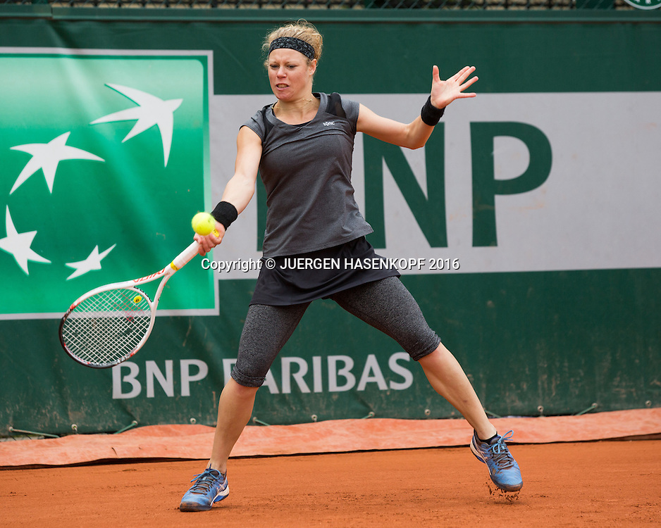 Laura Siegemund (GER)<br /> <br /> Tennis - French Open 2016 - Grand Slam ITF / ATP / WTA -  Roland Garros - Paris -  - France  - 24 May 2016.