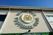 The Front of the Huish Park, Stadium before the EFL Sky Bet League 2 match between Yeovil Town and Doncaster Rovers at Huish Park, Yeovil, England on 28 January 2017. Photo by Graham Hunt.