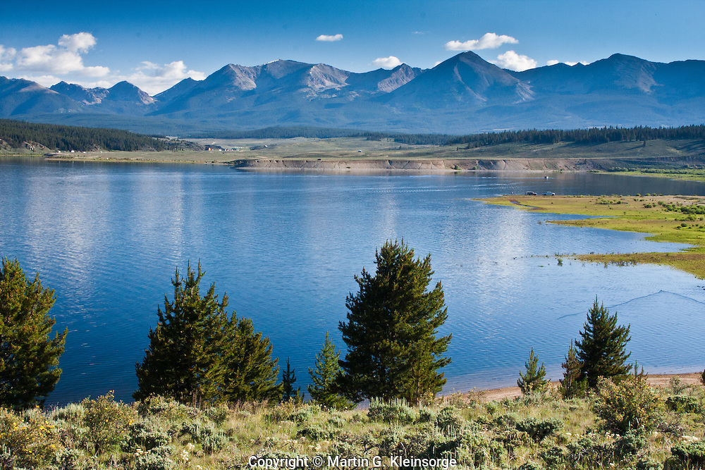 Taylor Park Reservoir found west of  the Sawatch Mountains in Taylor Park,    Colorado.