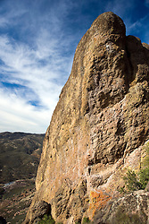 Rock formations along the Tunnel Trail at High Peaks, Pinnacles National Monument, California, United States of America