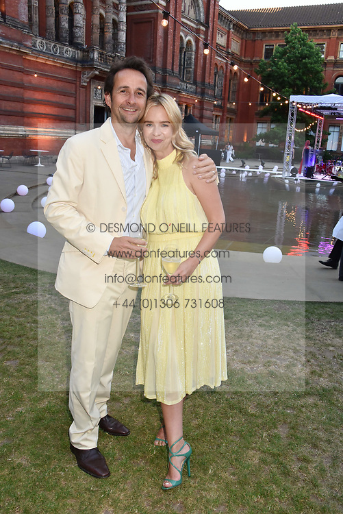 Marissa Hermer and Matt Hermer at the Victoria & Albert Museum's Summer Party in partnership with Harrods at The V&A Museum, Exhibition Road, London, England. 20 June 2018.
