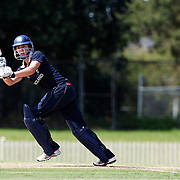 Beth Morgan batting during the match between England and New Zealand in the Super 6 stage of the ICC Women's World Cup Cricket tournament at Bankstown Oval, Sydney, Australia on March 14 2009, England won the match by 31 runs. Photo Tim Clayton