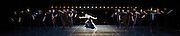 Anna Karenina Eifman Ballet at The London Coliseum, London, Great Britain press photocall 3rd April 2012 Music by Piotr Ilyitch Tchaikovsky Set design by Zinovy Margolin Costume design by Slava Okunev Lighting by Gleb Filshtinsky Nina Zmievets (as Anna) Photograph by Elliott Franks