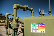 Industry site on land Don Schreiber leases from the BLM in Blanco, New Mexico.