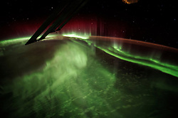 EARTH Aboard the International Space Station -- 13 Jul 2015 -- This image of the Aurora Borealis was captured by NASA astronaut Scott Kelly of Expedition 44 on the International Space Station --. EXPA Pictures © 2016, PhotoCredit: EXPA/ Photoshot/ Scott Kelly/Atlas Photo Archive/<br />