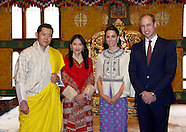 Kate Middleton & Prince William Audience With King & Queen, Bhutan
