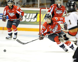 Kenny Ryan of the Windsor Spitfires in Game 4 of the 2010 MasterCard Memorial Cup in Brandon, MB on Monday May 17. Photo by Aaron Bell/CHL Images