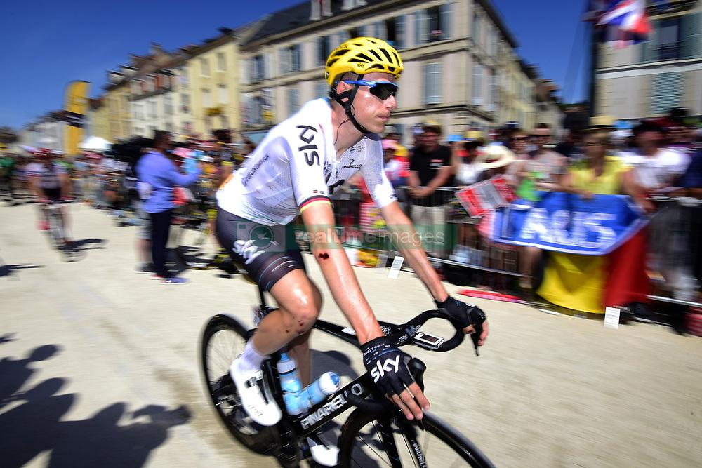 July 7, 2017 - Spielberg, France - KNEES Christian (GER) Rider of Team SKY (Credit Image: © Panoramic via ZUMA Press)