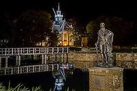 Noord-Holland bij nacht, aankleding, Egmond aan de hoef prachtstad