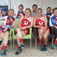 WATERLOO - EuroHockey Junior Championships Men &amp; Women<br /> <br /> Foto: Russian team.<br /> COPYRIGHT FFU PRESS AGENCY FRANK UIJLENBROEK