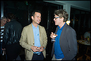 MATTHEW SLOTOVER; MARK DARBYSHIRE, Frieze party, ACE hotel Shoreditch. London. 18 October 2014