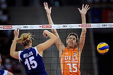 20090925 POL: Europees Kampioenschap Nederland - Kroatie, Lodz