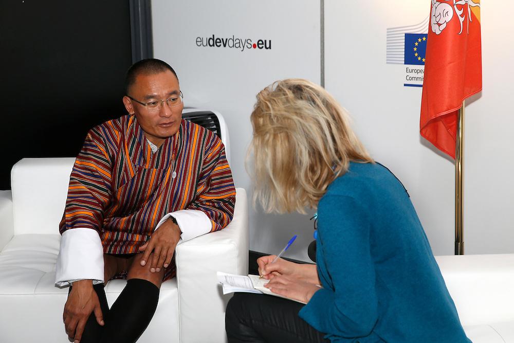 20150603- Brussels - Belgium - 03 June2015 - European Development Days - EDD  - Tshering Tobgay Prime Minister of Bhutan © EU/UE