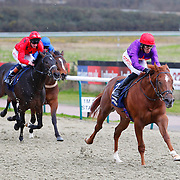 Chunghua and George Baker winning the 3.00 race