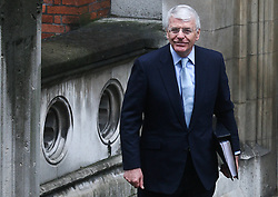 © Licensed to London News Pictures. 12/06/2012. London,Britain.Former Prime Minister, Sir John Majorand arrives at the Leveson Inquiry in the Royal Courts of Justice. Photo credit : Thomas Campean/LNP..