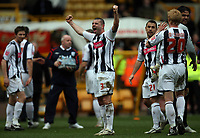 Photo: Rich Eaton.<br /> <br /> Wolverhampton Wanderers v West Bromwich Albion. The FA Cup. 28/01/2007. West Broms Paul Robinson celebrates at the end of the game winning 3-0