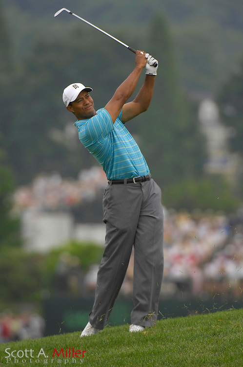 Tiger Woods during the 2007 U.S. Open at Oakmont Country Club on June 14, 2007 in Oakmont, Pennsylvannia.....©2007 Scott A. Miller