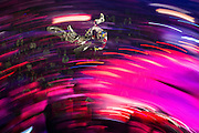 Tom Pages performs at the Red Bull X-Fighters World Tour at Plaza de Toros Mexico in Mexico City on March 6th 2015